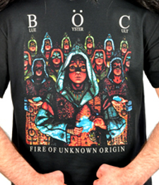 "BLUE OYSTER CULT ""Unknown Origin"" [T-Shirt]"