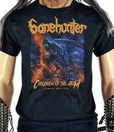 BONEHUNTER - Children Of The Atom