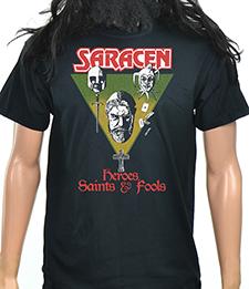 SARACEN - Heroes, Saints And Fools (New Logo)