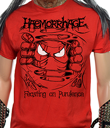 HAEMORRHAGE - Feasting On Purulence