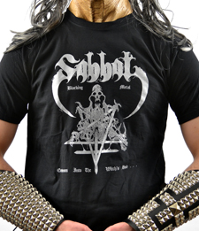 SABBAT - Envenom Into The Witches Hole
