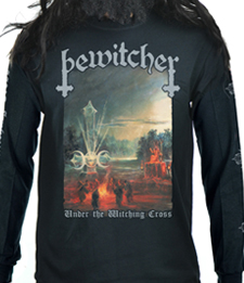 BEWITCHER - Under The Witching Cross (Album Cover)