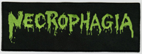 NECROPHAGIA - Logo Green