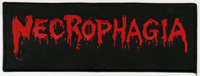 NECROPHAGIA - Logo Red