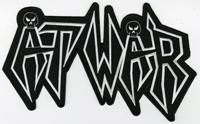 AT WAR - Shaped Logo