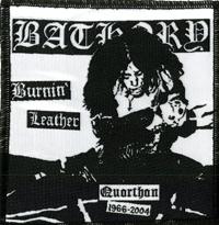 BATHORY - Burnin' Leather