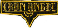 IRON ANGEL - Shaped Logo