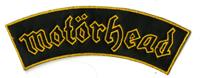 MOTORHEAD - Gold Logo