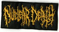 NUCLEAR DEATH - Orange Logo