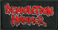 DEMOLITION HAMMER - Red Logo