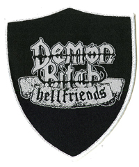 DEMON BITCH - Hellfriends Shield Shape