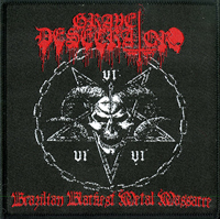 GRAVE DESECRATOR - Brazilian Blackest Metal Massacre