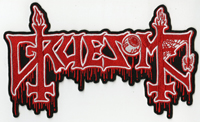 GRUESOME - Large Back Strip Logo